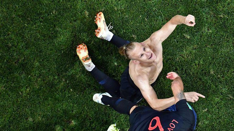 Суббота. Сочи. Россия - Хорватия - 2:2, пенальти - 3:4. Домагой ВИДА. Фото AFP