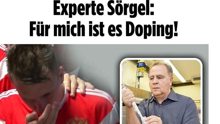 Статья в газете Bild.