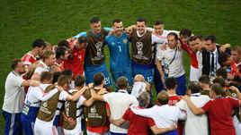 Суббота. Сочи. Россия - Хорватия - 2:2, пенальти - 3:4. Россияне перед дополнительным временем.