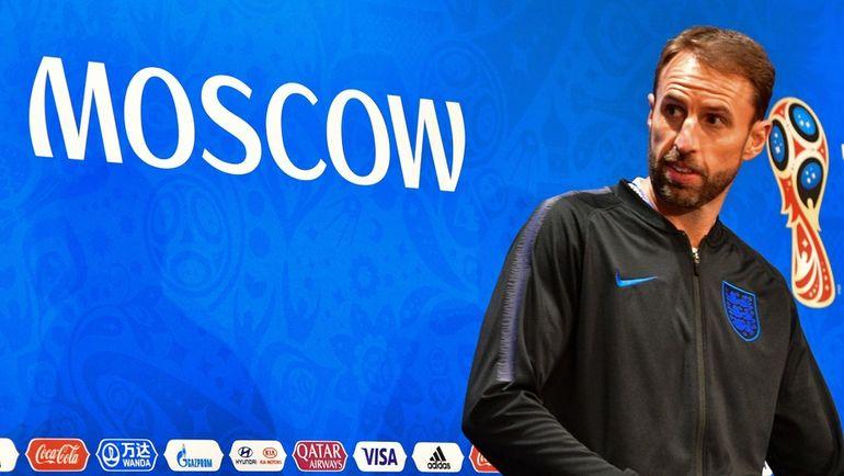 10 июля. Москва. Гарет САУТГЕЙТ. Фото AFP