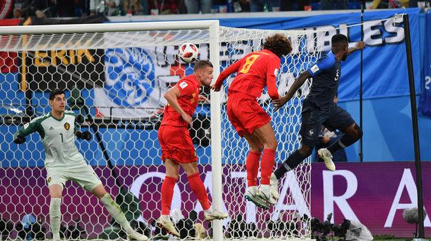Франция - Бельгия - 1:0. Чемпионат мира, 10 июля 2018, обзор матча