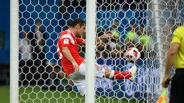 До национального рекорда России сборной не хватило одного гола