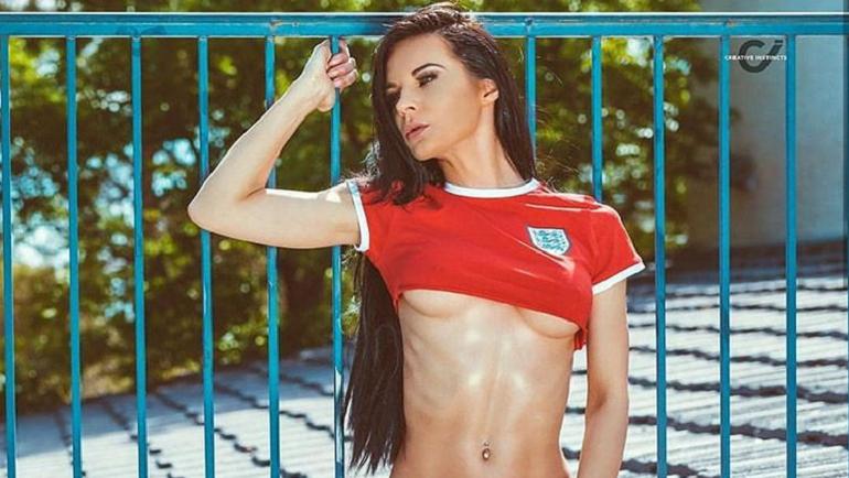 Боельщица сборной Англии. Фото instagram.com