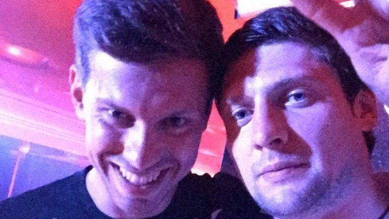 Евгений СЕЛЕЗНЕВ (справа) и Федор СМОЛОВ. Фото Instagram