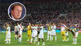 Харри РЕДНАПП оценил выступление сборной Англии на чемпионате мира.