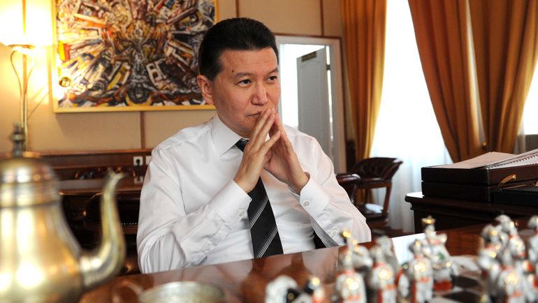 Президент ФИДЕ Кирсан ИЛЮМЖИНОВ. Фото Татьяна ДОРОГУТИНА