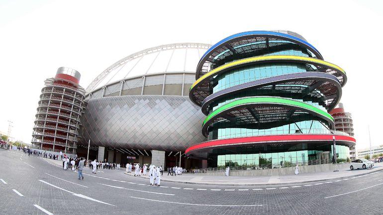 "Стадион ""Халифа"" (Доха). Фото AFP"