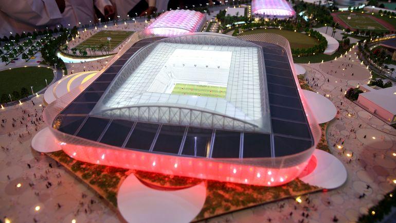 """Проект стадиона """"Аль-Райан"""" (Аль-Райан). Фото AFP"""