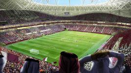 """Проект стадиона """"Аль-Тумама"""" (Доха)."""