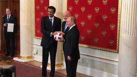 Владимир Путин передал Катару эстафету чемпионата мира