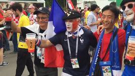 Французы и хорваты кричат