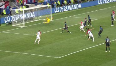 Финал ЧМ-2018 Франция - Хорватия. Как забил Перишич. Разбор момента