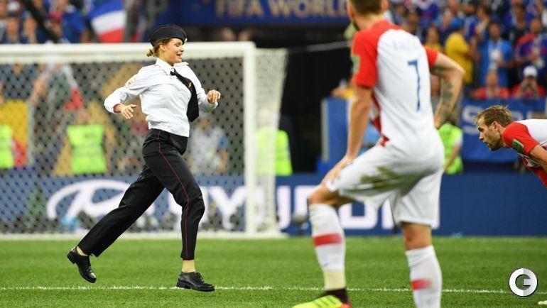 Воскресенье. Москва. Франция - Хорватия - 4:2.