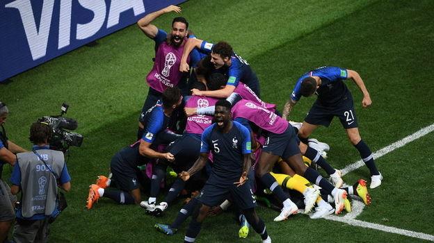 Сегодня. Москва. Франция - Хорватия - 4:2. Французы - двукратные чемпионы мира!! Фото Дарья ИСАЕВА, «СЭ»