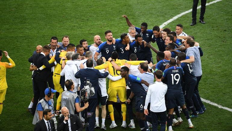 Франция - Хорватия - 4:2. Чемпионат мира, 15 июля 2018, обзор матча