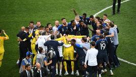 15 июля. Москва. Лужники. Франция - Хорватия - 4:2. Французы - двукратные чемпионы мира!!