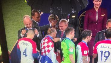 Путин вручил серебряную медаль Виде