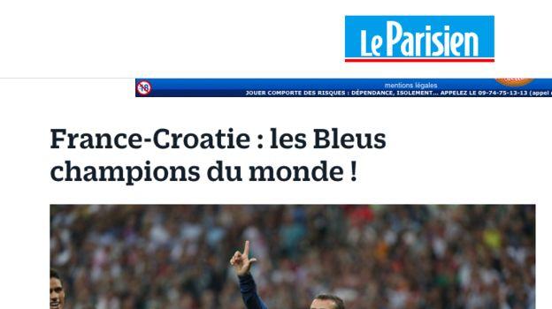 LE PARISIEN.