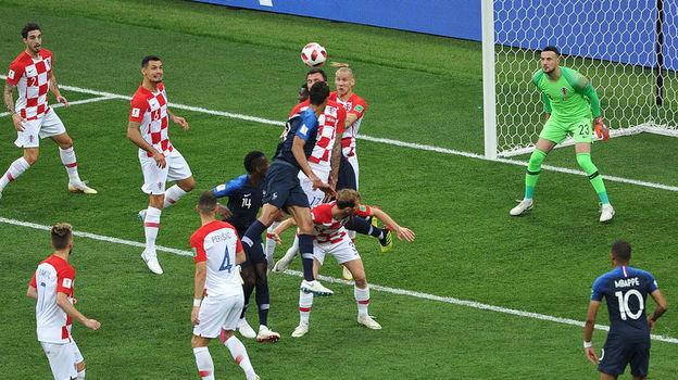 Франция - Хорватия - 4:2. Чемпионат мира, 15 июля 2018, репортаж, обзор матча