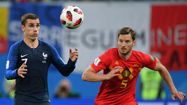 Франция Антуана ГРИЗМАННА (слева) стала чемпионом. Бельгия Яна ФЕРТОНГЕНА выиграла утешительный финал.
