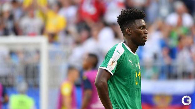 Сенегальский футболист Ламин ГАССАМА. Фото AFP
