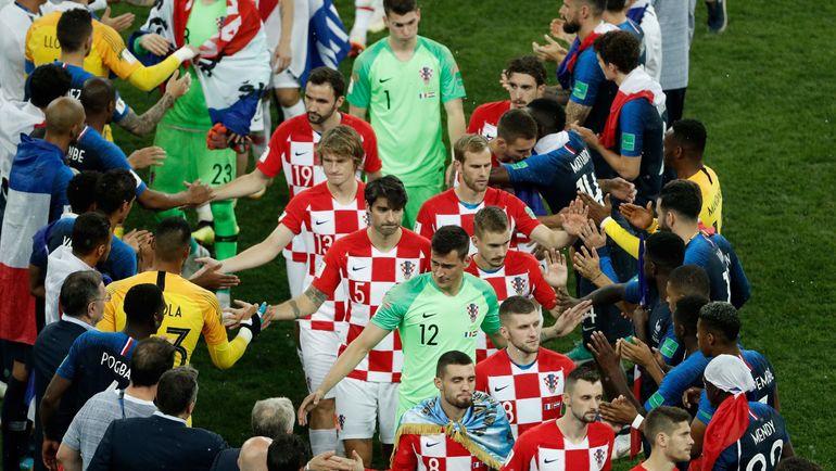 Командная игра помогла Хорватии дойти до финала. Фото AFP