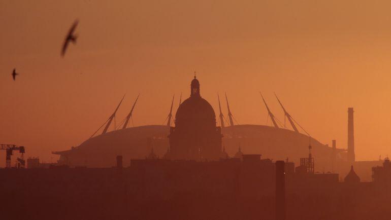 "Стадион ""Санкт-Петербург"". Фото REUTERS"