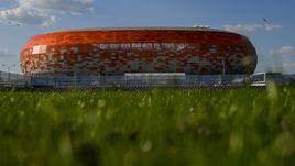 """Стадион """"Саранск Арена""""."""