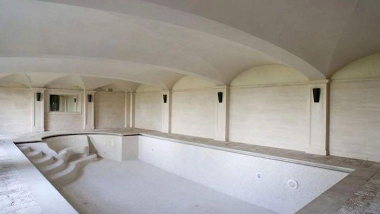 Бассейн в доме Роналду в Турине. Фото Clarin