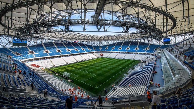 Стадион в Волгограде. Фото AFP