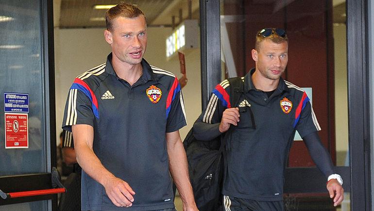 Василий (справа) и Алексей БЕРЕЗУЦКИЕ. Фото Александр ФЕДОРОВ, «СЭ»