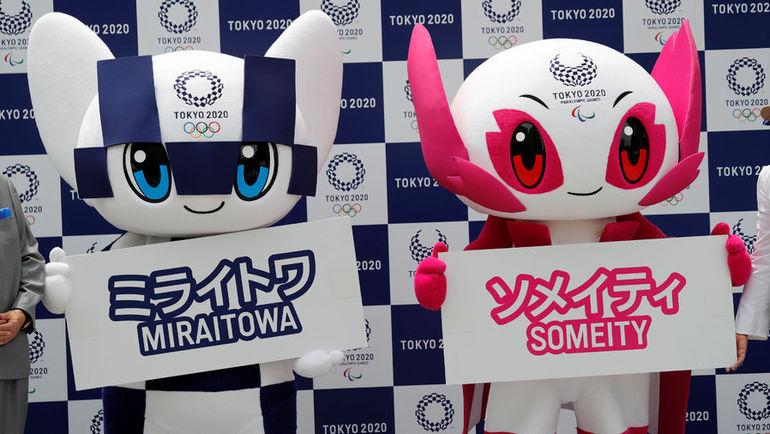 Воскресенье. Токио. Презентация талисманов Олимпийских и Паралимпийских игр 2020 году.