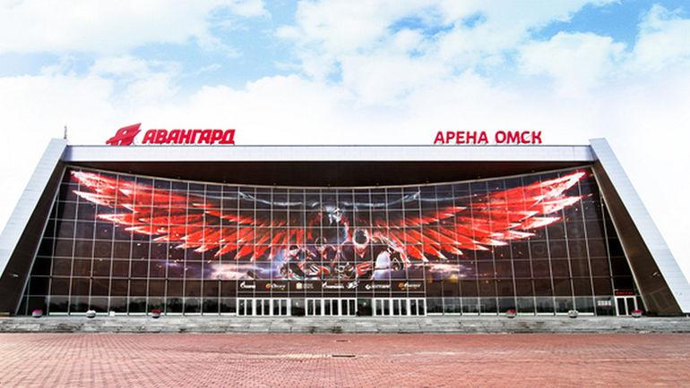 """""""Арена Омск"""". Фото ХК """"Авангард"""""""