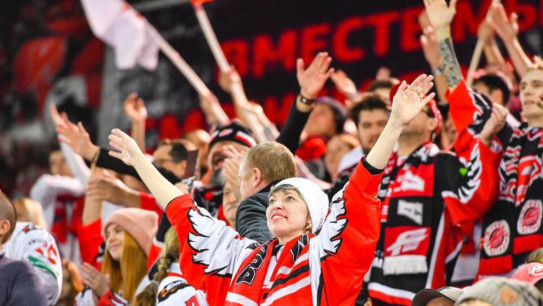 "Омские болельщики могут остаться без хоккея. Фото ХК ""Авангард""/hawk.ru"