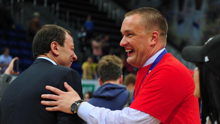 Андрей ВАТУТИН (справа) и Сергей КУЩЕНКО. Фото Никита УСПЕНСКИЙ