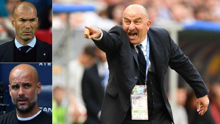 ФИФА: Черчесов - как Зидан и Гвардьола