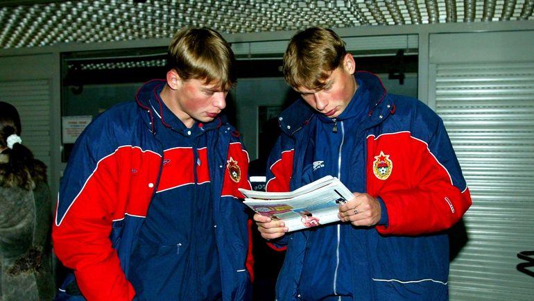 2003 год. Алексей и Василий БЕРЕЗУЦКИЕ. Фото Алексей ИВАНОВ