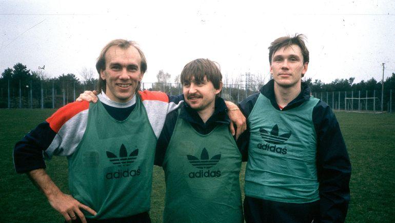 Вагиз Хидиятуллин, Федор Черенков и Сергей Родионов. Фото Игорь Уткин