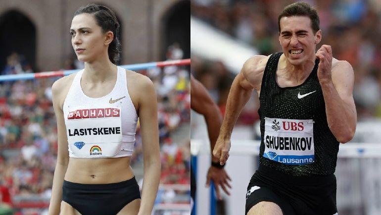 Мария ЛАСИЦКЕНЕ и Сергей ШУБЕНКОВ.