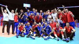 Вице-премьер поздравила волейболистов с победой в первой в истории Лиги наций.