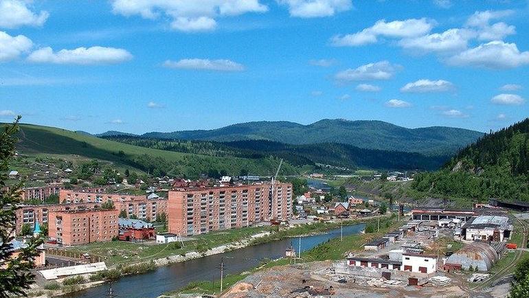 А это - Калтан, родной город Головина. Фото twitter.com