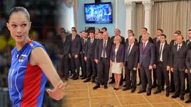 Екатерина ГАМОВА и сборная России по футболу.