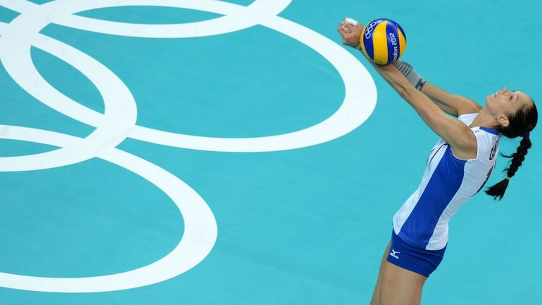 Екатерина ГАМОВА. Фото AFP