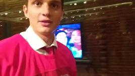 Сборные России по хоккею и волейболу: встреча на Манежке