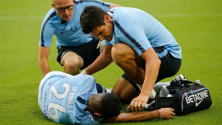 """Воскресенье. Майами. """"Бавария"""" - """"Манчестер Сити"""" - 2:3. Рияд МАХРЕЗ получил травму. Фото AFP"""