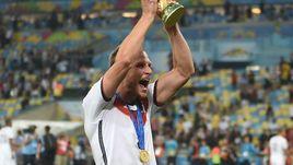 13 июля 2014 года. Рио-де-Жанейро. Германия – Аргентина – 1:0 д.в. Бенедикт ХЕВЕДЕС.