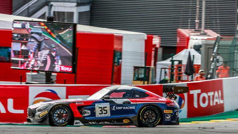 Михаил Алешин, испанец Мигель Молина и итальянец Давиде Ригон на Ferrari 488 GT3 замкнули десятку сильнейших, а Виталий Петров, Денис Булатов и британец Майкл Медоуз на Mercedes AMG GT3 финишировали 16-ми.