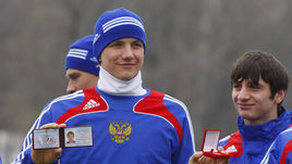 ЗМС-2008. После Евро сборная получила значки на тренировке