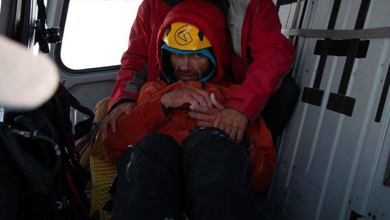 Спасение Александра ГУКОВА. Фото mountain.ru