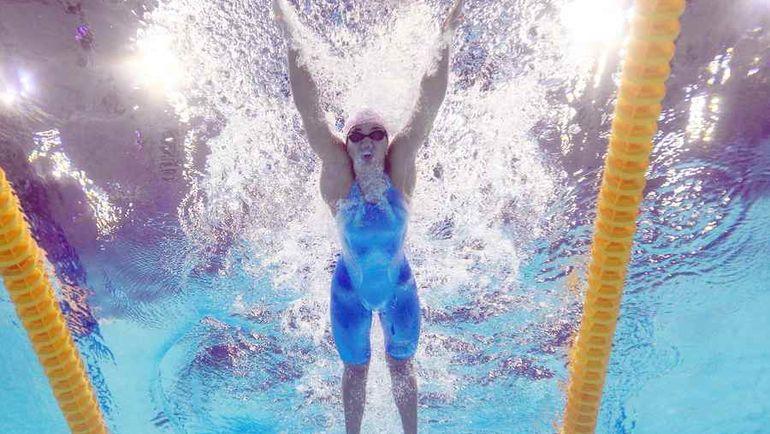 Российская пловчиха  Юлия ЕФИМОВА. Фото REUTERS